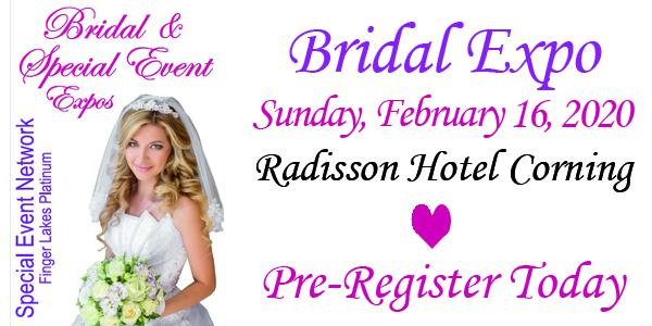Bride: Bridal Expo Sunday, Feb 16, 2020 Radisson Hotel Corning