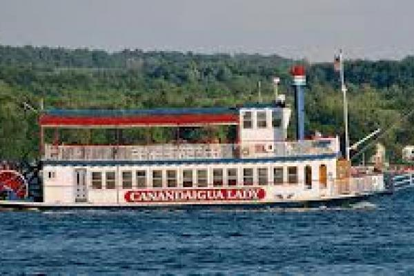 Cruise Boat on Canandaigua Lake