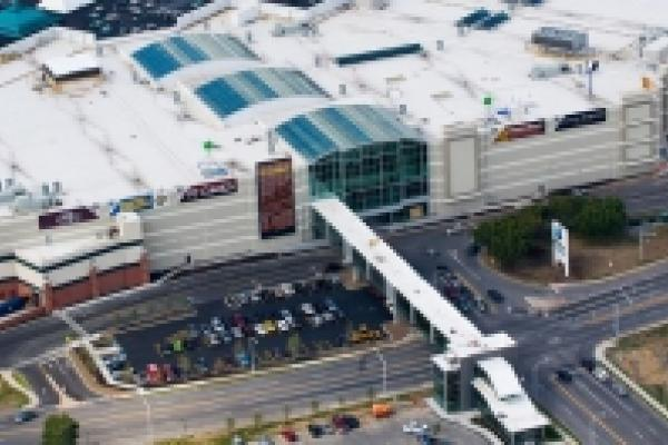 Aerial View of Destiny USA