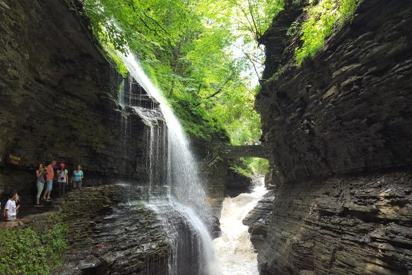 The Gorge Trail at Watkins Glen State Park