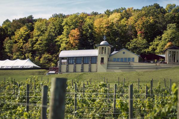winery in the early fall