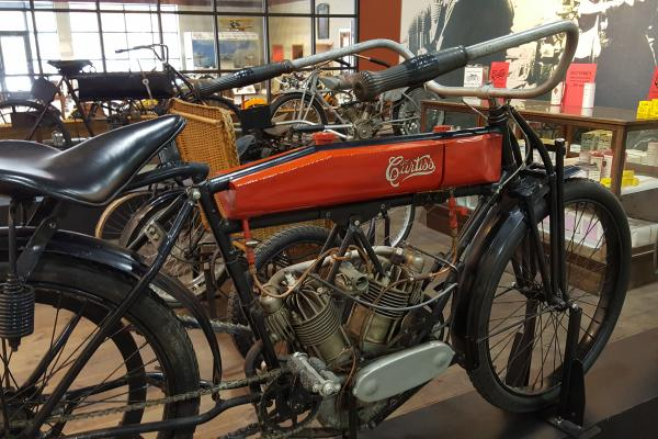 Priceless collection of vintage motorcycles from 1905 to the 1970s