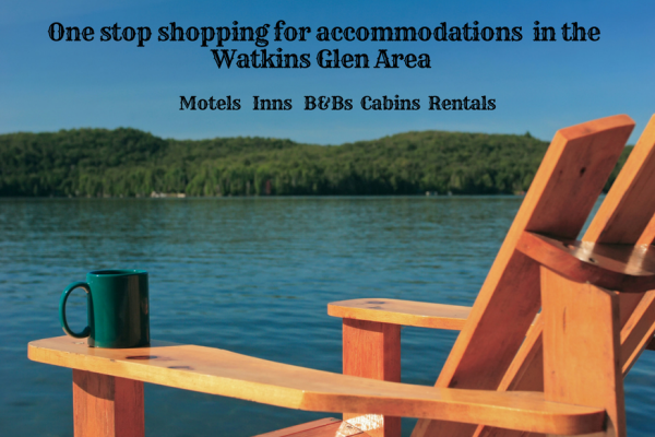 One stop shopping for accomodations in the Watkins Glen area