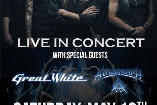 Queensryche, Great White and Autograph at TAGS