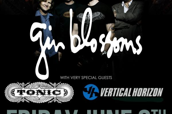 Gin Blossoms, Tonic and Vertical Horizon