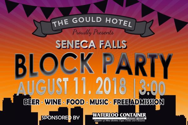 Seneca Falls Block Party