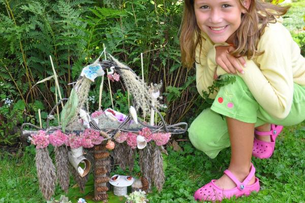 Fairy House Display