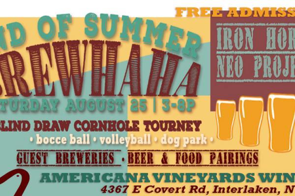 Great bands, brews, food & games -- a great summer backyard kegger!