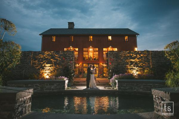 Elegant barn venue