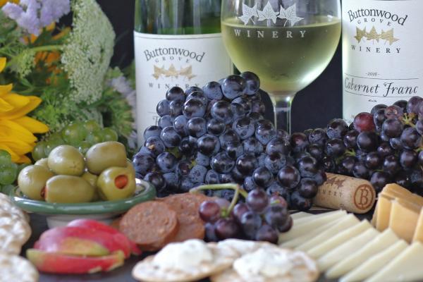 Premium Wine Tastings on the Buttonwood Grove deck