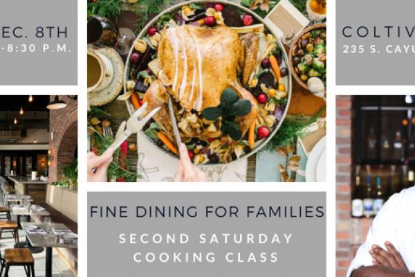 Cooking Class: Fine Dining for Families