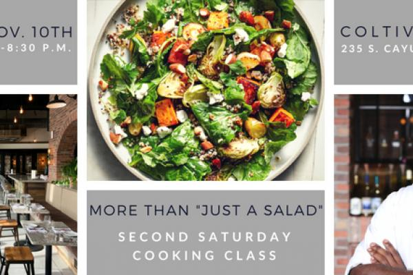 Cooking Class More Than Just a Salad