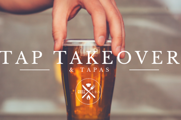 Tap Takeover & Tapas Beer tasting and pairing