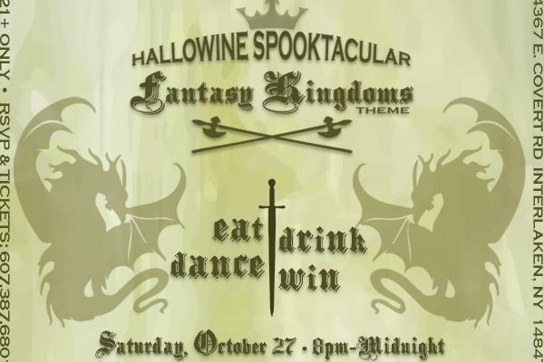Hallowine Spooktacular at Americana Vineyards | Saturday, October 27