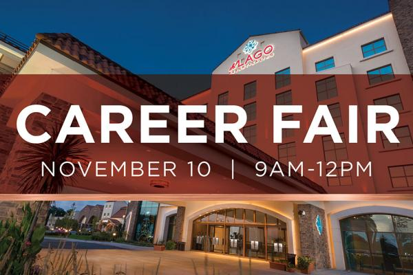 Career Fair- Saturday, November 10