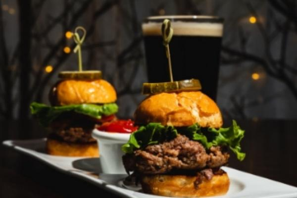 Tapas-style food and beer pairings from local brewery