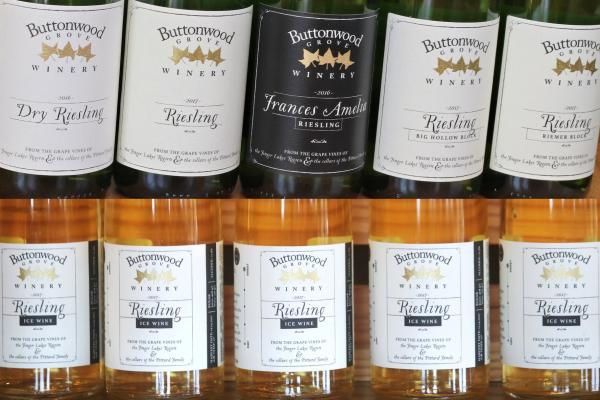 Premium Riesling Flight at Buttonwood Grove
