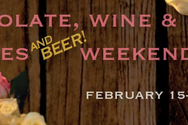 Valentine's Weekend at Americana: Chocolate, Wine, Roses & Beer!