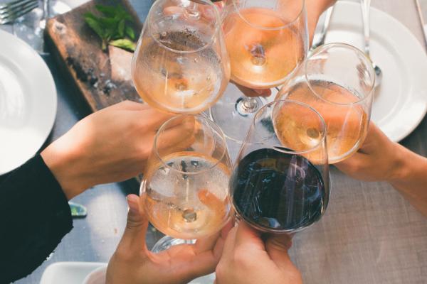 Wine & Food pairing event at Radisson Hotel Corning
