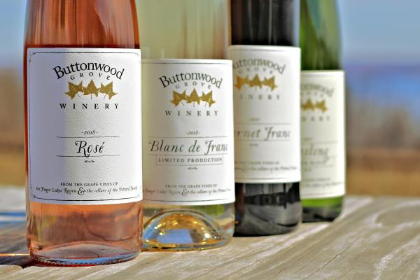 New release wines at Buttonwood Grove