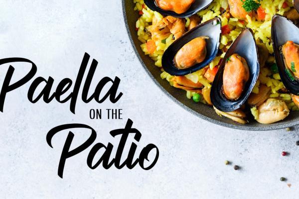 Toro Run Paella on the Patio