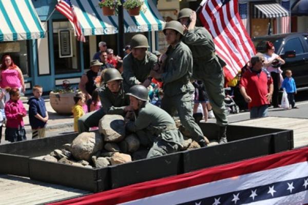 waterloo parade