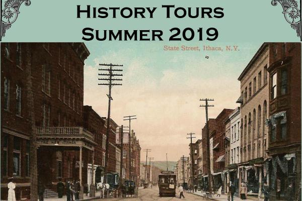Downtown Ithaca Summer Tours