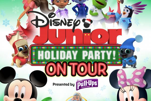 Disney Junior Holiday Party! On Tour Logo