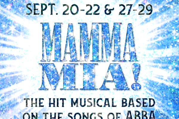 Elmira Little Theatre Presents Momma Mia Logo