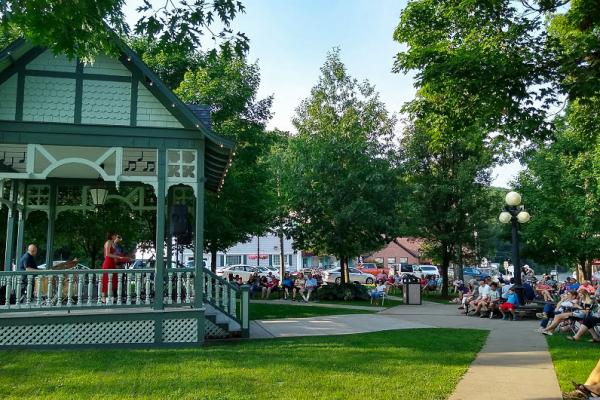 Music in the Park returns to Hammondsport this summer!