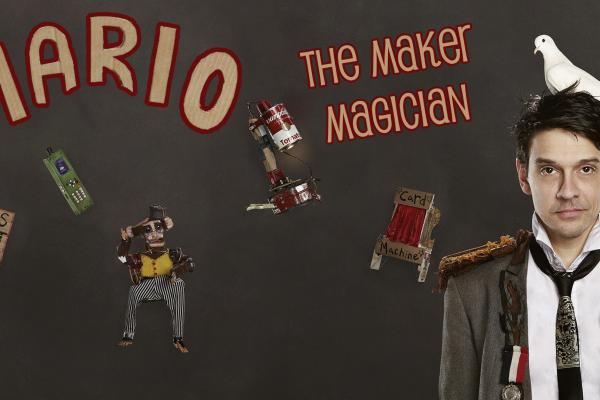 Mario The Maker Magician Logo