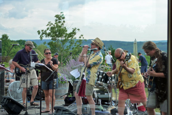 Agonal Rhythm plays at Keuka Spring Vineyards