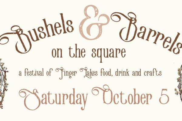Bushels & Barrels on the Square arrives on Saturday, October 5th!
