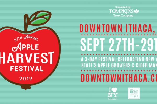 37th Annual Apple Harvest Festival in Downtown Ithaca artwork