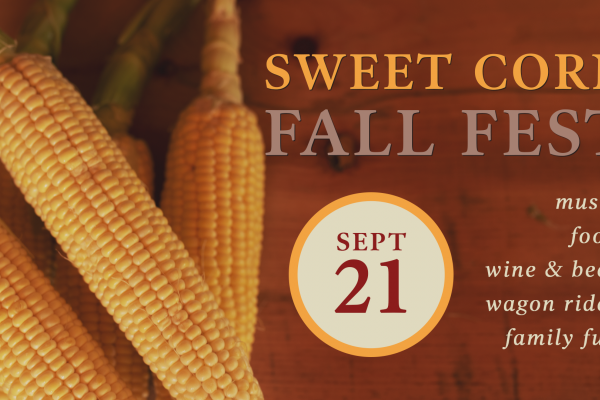 Sweet corn fall fest