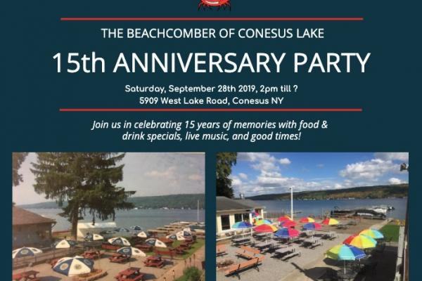 The Beachcomber's 15th Anniversary Party