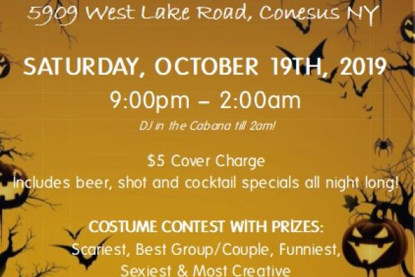 Beachcomber's Annual Halloween Party