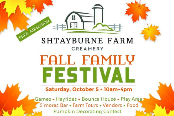 Fall Family Festival on the Farm | Saturday, October 5, 10a-4p