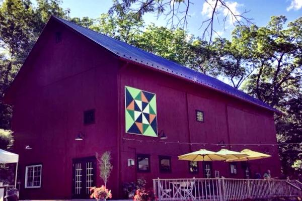Billsboro winery barn