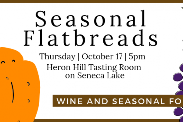 flatbread tasting with wine pairings