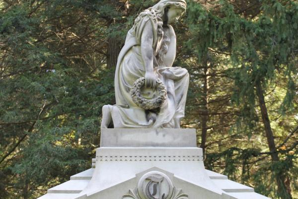 Gere Tillotson Monument at the Ithaca City Cemetery