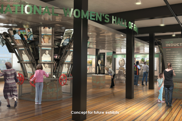concept - National Women's Hall of Fame new location