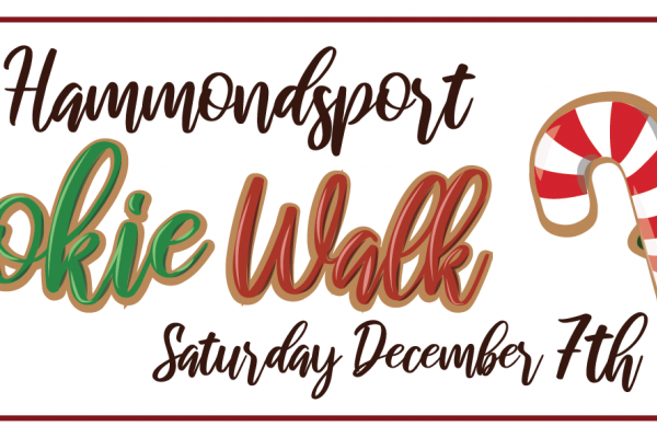 The Cookie Walk arrives on Saturday, December 7th!