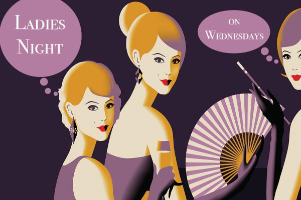 Image for Ladies Night every Wednesday at the Gould Hotel