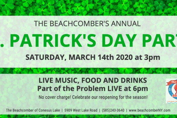 St. Patrick's Day Party at the Beachcomber