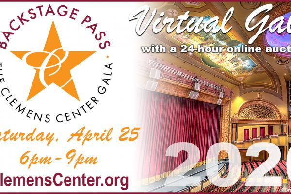 Backstage Pass: The Clemens Center Gala image