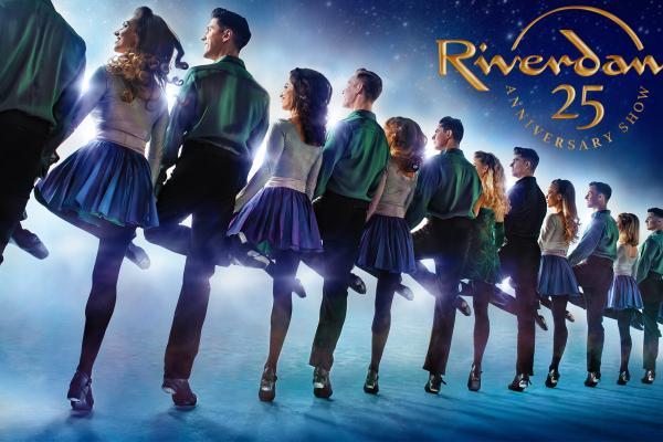 RIVERDANCE 25th Anniversary Show logo