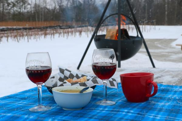 Outdoor Wine Experience at Buttonwood Grove