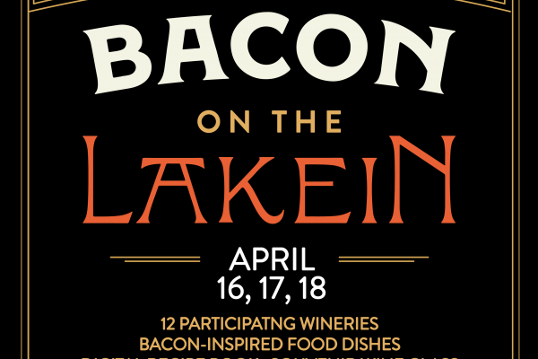 Bacon on the Lakein, April 16, 17, 18