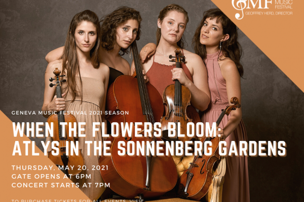 WHEN THE FLOWERS BLOOM: ATLYS IN THE SONNENBERG GARDENS